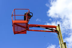 Hydraulic lift platform Royalty Free Stock Photography