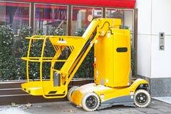 Hydraulic lift platform Royalty Free Stock Photo