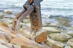 Hydraulic Machine Royalty Free Stock Photography