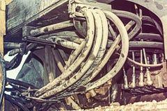 Hydraulic machine Stock Photography