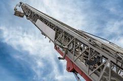 Hydraulic man lift Stock Photography