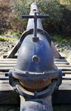 Hydraulic Mining cannon Stock Image