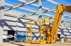 Hydraulic mobile construction platform Stock Photography