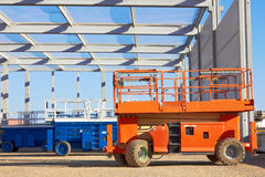 Hydraulic mobile platform Royalty Free Stock Images