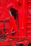 hydraulic part Royalty Free Stock Photos