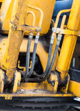Hydraulic pipe Stock Images