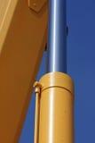 Hydraulic piston. Royalty Free Stock Photography