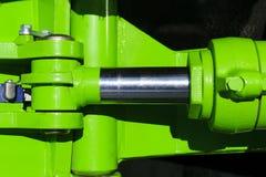 Hydraulic piston system Stock Photo