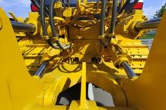 Hydraulic piston system royalty free stock photos
