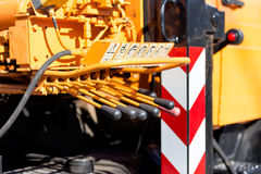 Hydraulic power Royalty Free Stock Images