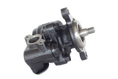 Hydraulic power steering pump Stock Images