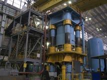 Hydraulic press royalty free stock photography