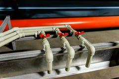 Hydraulic press Stock Photo