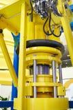 Hydraulic press Royalty Free Stock Image