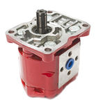 Hydraulic pump Stock Photography
