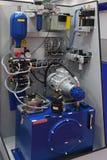Hydraulic pump Stock Photo