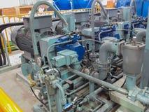 Hydraulic pump Stock Photos