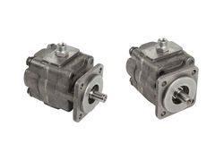 Hydraulic pump Royalty Free Stock Photography