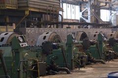 Hydraulic pumps Stock Image