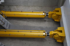Hydraulic Rams Royalty Free Stock Image