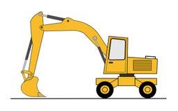 Hydraulic shovel  Stock Photo