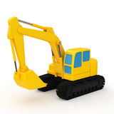Hydraulic shovel Stock Photography