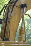 Hydraulic system. To the lift arm of a front end loader Royalty Free Stock Image