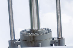 Hydraulic system Royalty Free Stock Images