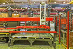 Hydraulic turret punch press Royalty Free Stock Photography