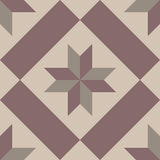 Hydraulic vintage cement tiles Royalty Free Stock Photography