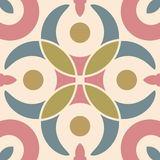 Hydraulic vintage cement tiles Royalty Free Stock Images