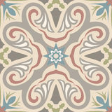 Hydraulic vintage cement tiles Stock Photo