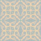 Hydraulic vintage cement tiles Stock Image