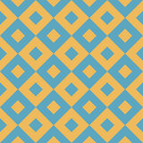 Hydraulic vintage cement tiles Stock Images