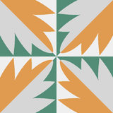 Hydraulic vintage cement tiles Royalty Free Stock Photos