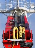 Hydraulica royalty-vrije stock foto's