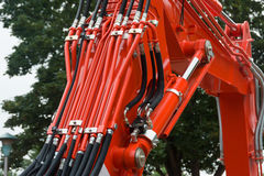 Hydraulica royalty-vrije stock foto