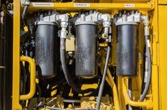 Hydraulica Royalty-vrije Stock Afbeeldingen