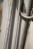 Hydraulics. A detail of hydraulic lines Royalty Free Stock Photos