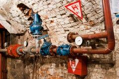 hydrauliczna instalacja Fotografia Royalty Free