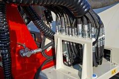 Hydrauliczna kontrola Zdjęcie Stock
