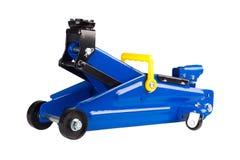 Hydrauliczna podłogowa dźwigarka dla samochodu Fotografia Royalty Free