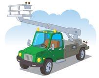 hydraulicznego dźwignięcia ciężarówka miastowa Obrazy Stock