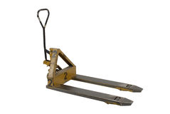 hydraulicznej dźwigarki barłóg Zdjęcie Stock