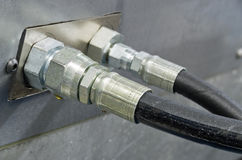 Hydrauliczni wąż elastyczny Obraz Royalty Free