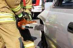 Hydrauliczny sprzęt ratowniczy zdjęcie stock
