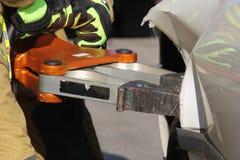 Hydrauliczny sprzęt ratowniczy Obrazy Stock