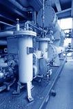 Hydrauliczny system zasilania w elektrowni Zdjęcia Royalty Free