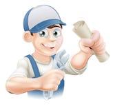 Hydraulika lub mechanika kwalifikacja Obraz Royalty Free