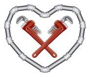 hydraulika valentine Zdjęcie Royalty Free